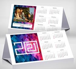 Calendarios 2020 para imprimir. Calendario de escritorio 2021