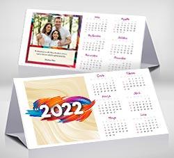 Calendarios 2020 para imprimir. Calendario de escritorio 2022