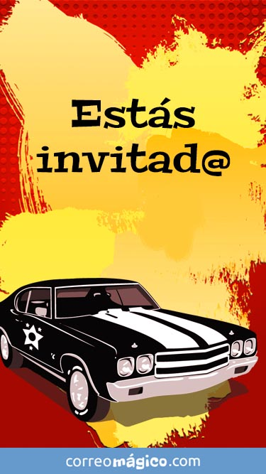 Tarjeta de Invitacion para fiesta para whatsapp para enviar desde tu celular o computadora