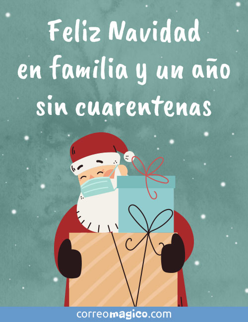 Feliz Navidad en familia y un año sin cuarentenas