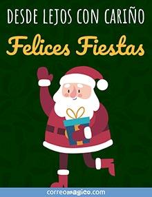 Desde lejos con cariño -  Felices Fiestas