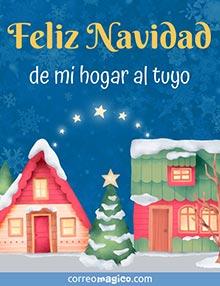 Feliz Navidad de mi hogar al tuyo