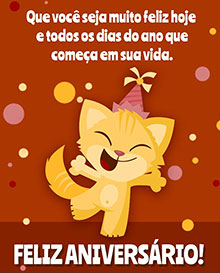 Que você seja muito feliz hoje e todos os dias do ano que começa em sua vida. Feliz Aniversário!