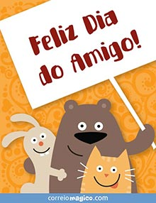 Feliz Dia do Amigo